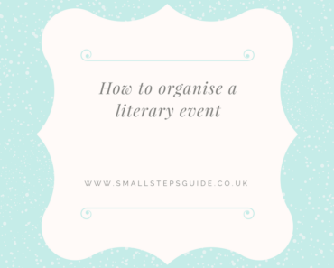 How to organise a literary event and why it's easier than you think