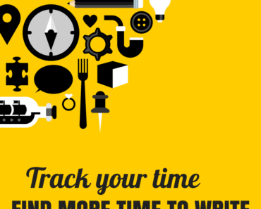 Track your time and find more time to write