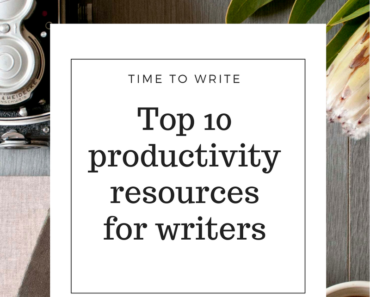 productivity resources for writers