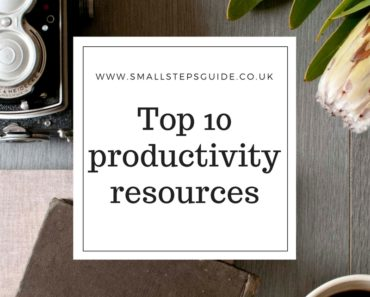 Productivity tips top ten
