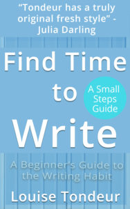 Find Time to Write by Louise Tondeurcover
