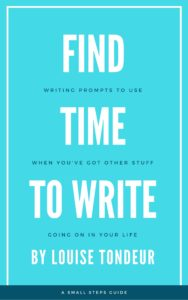Find time to write cover design