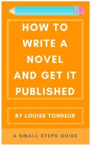 How to Write a Novel and get it published a small steps guide
