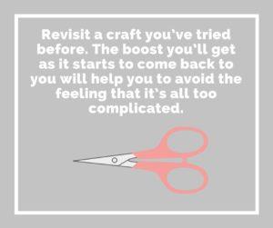 Revisit a craft