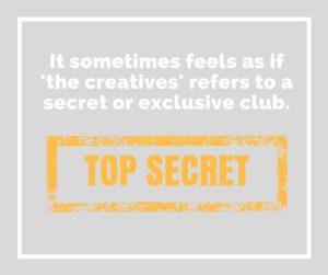 The Creatives Top Secret