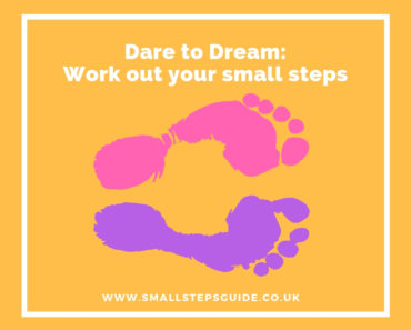 Work out your small steps