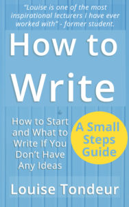 How to Write by Louise Tondeur cover