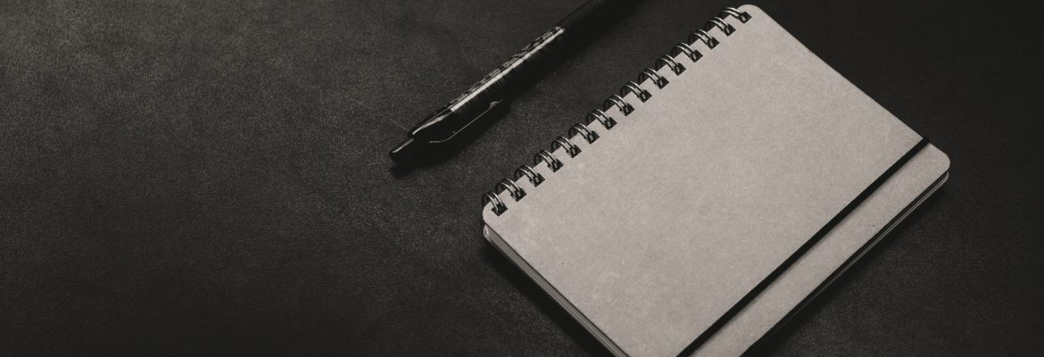 Picture of a notebook by ali yahya on unsplash