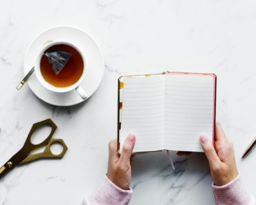 Picture of a notebook by rawpixel on unsplash